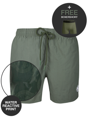 Boys 1-pack swimshorts solid + print