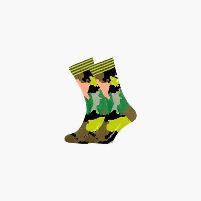 Heren 1-pack Sokken World At Your Feet