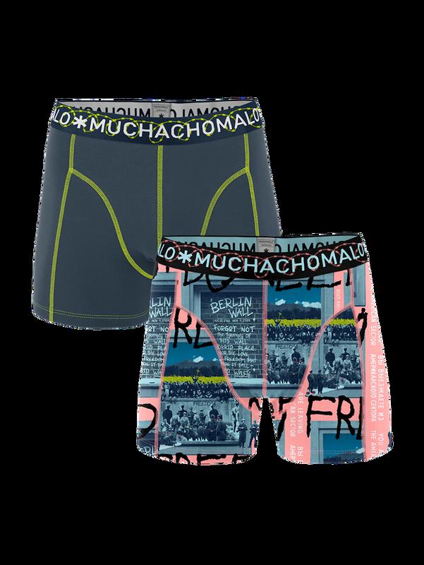 Men 2-pack shorts Berlin Wall 1
