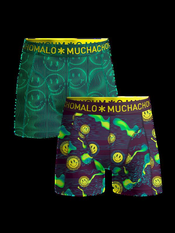 Men 2-pack shorts Acid House 1