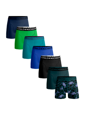 Men 7-pack boxer shorts Turtle + solid