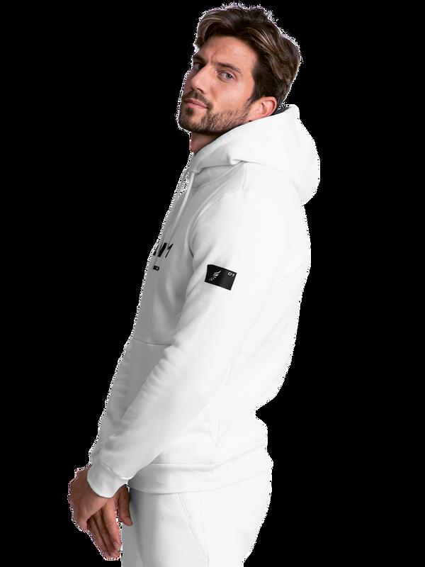 Men hoodie LNR white