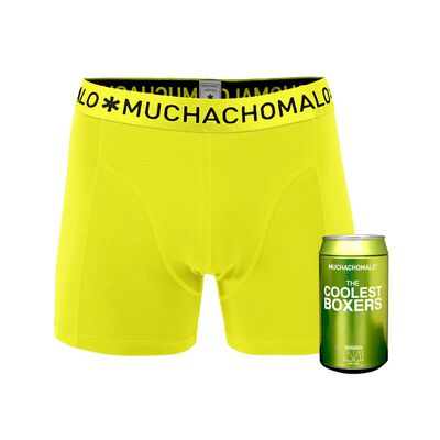 Heren Cans 1-pack Boxershort Lime