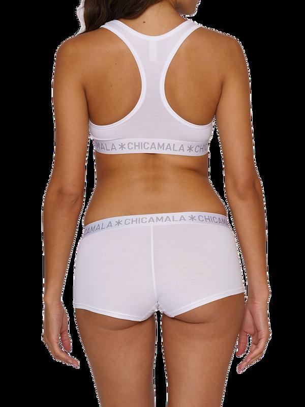Women 2-pack Boxershort Solid 4