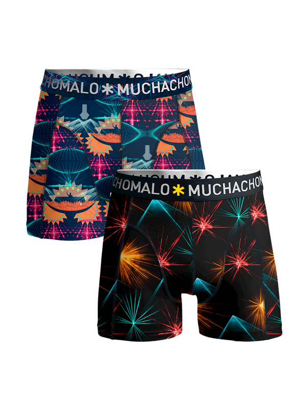 Boys 2-pack shorts EDM music 1