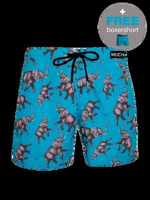 Heren 1-pack swimshorts Elephant