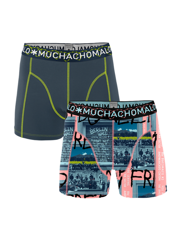 Men 2-pack shorts Berlin Wall