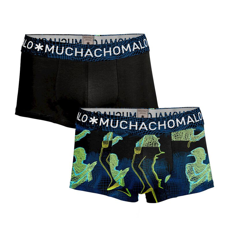 Men 2-pack trunks Off the grid 1