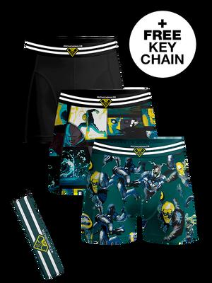 Men 3-pack boxer shorts Comic