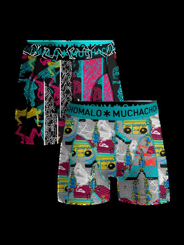 Men 2-pack shorts Boom Bap 1