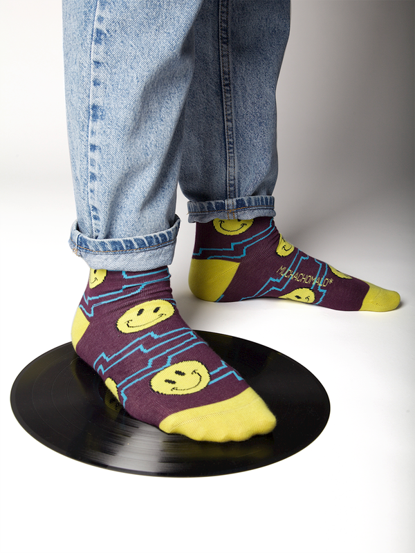 Men 1-pack socks Pattern ACIDH 2