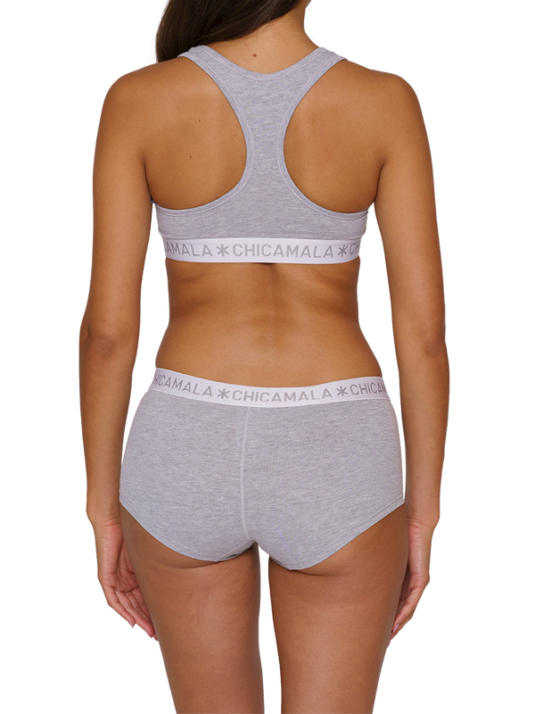 Women 2-pack Boxershort Solid 4