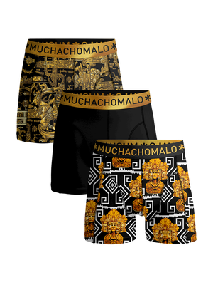 Heren 3-pack boxershorts Mayans