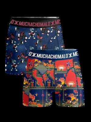 Boys 2-pack boxer shorts Super 16bit
