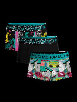 Heren 3-pack Trunks Boom Bap