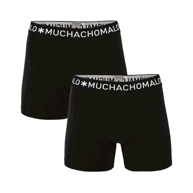 Men 2-pack boxer solid/solid 2