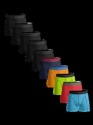 Men 10-pack boxer shorts solid