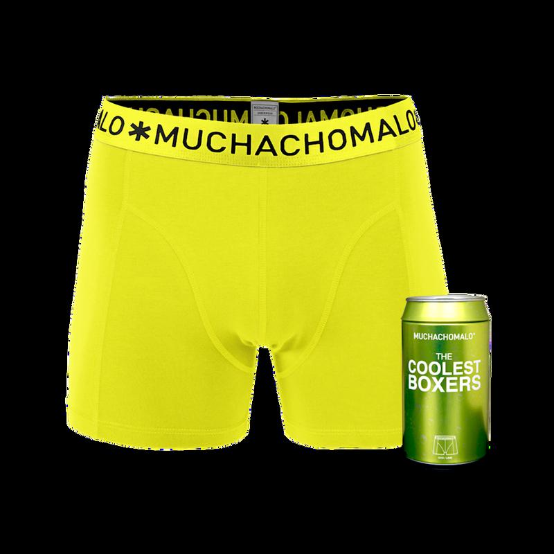 Men 1-pack short lime 1