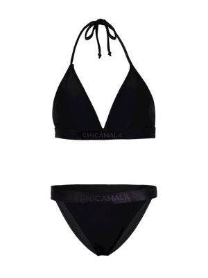 Dames 1-pack triangle bikini effen