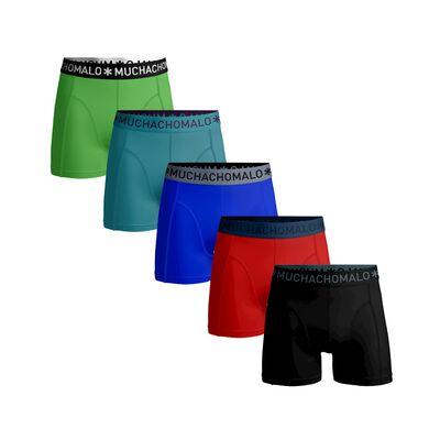 Jongens 5-pack boxershort effen