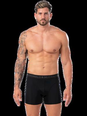 Men 3-pack shorts Microfiber Black/Green/Black 2