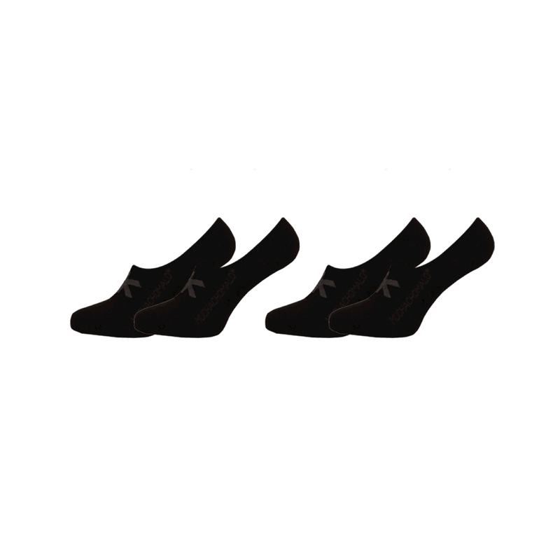 2-PACK SHORT SOCKS SOLID/SOLID 1