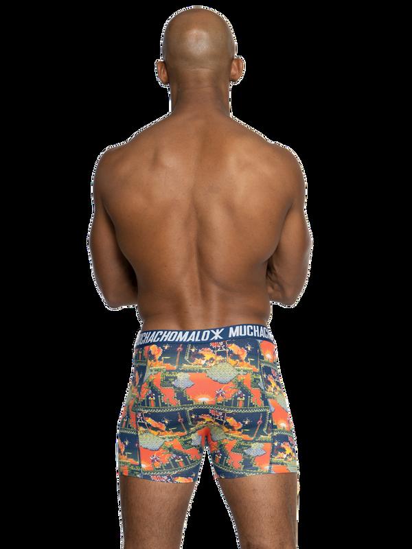 Men 2-pack shorts Super 16bit 4