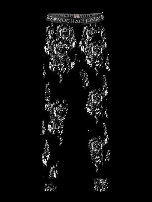 Men -Pack Husky Longjohn print