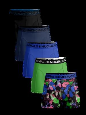 Men 5-pack boxer shorts Koi + solid