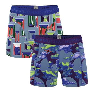 Men 2-pack boxer shorts Life is a Journey