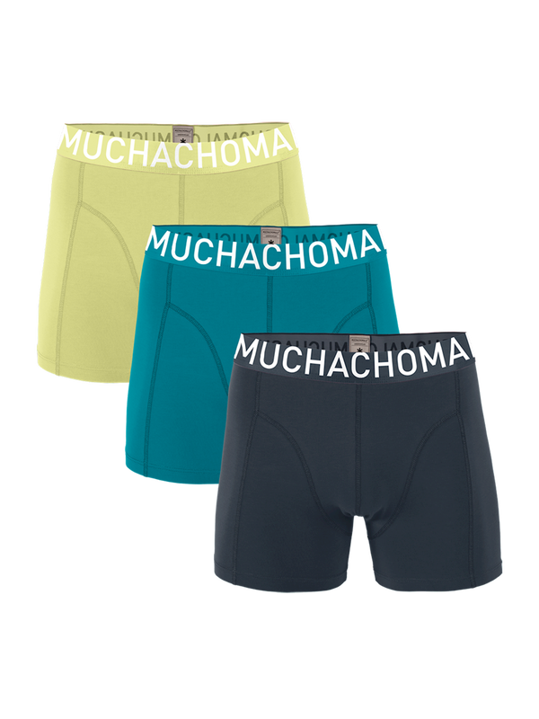 Boys 3-Pack Short Solid/Solid