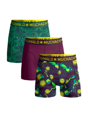 Heren 3-pack Boxershorts Acid House