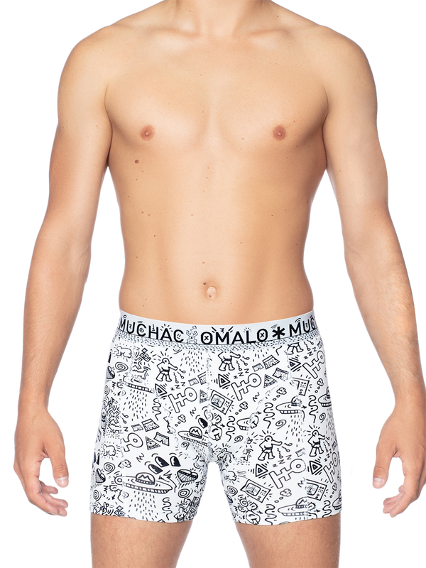 Men 1-pack short Iconic art