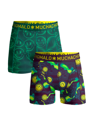 Heren 2-pack boxershorts Acid House