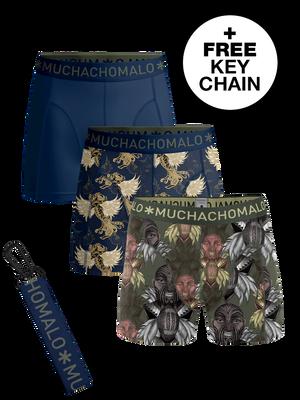 Heren 3-packs boxershorts King Maori