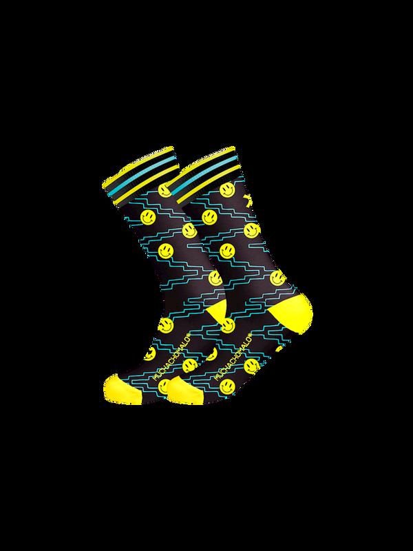 Men 1-pack socks Pattern ACIDH 1