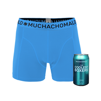 Heren Cans 1-pack Boxershort Blue