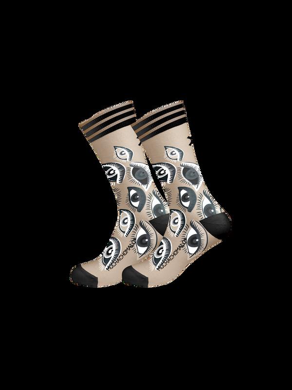 Men 1-pack socks Pattern EYEZU 1