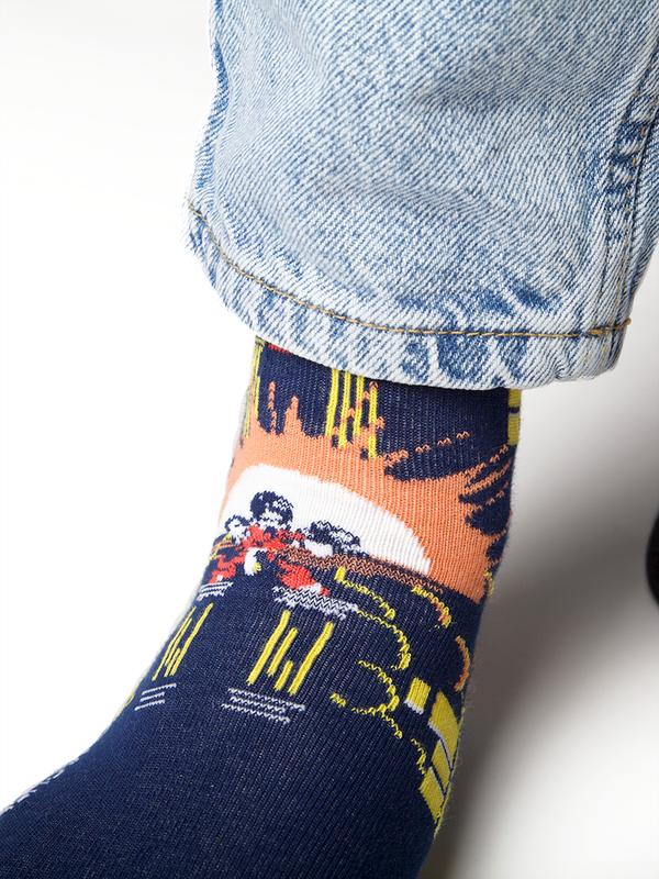 Men 1-pack socks Pattern SNIN 4