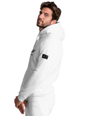 Men hoodie LNR white 2