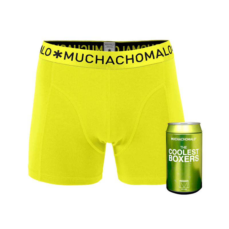 Men 1-pack short lime 1