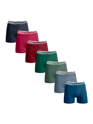 Men 7-pack light cotton solid