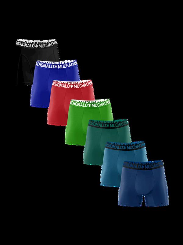Men 7-pack light cotton solid