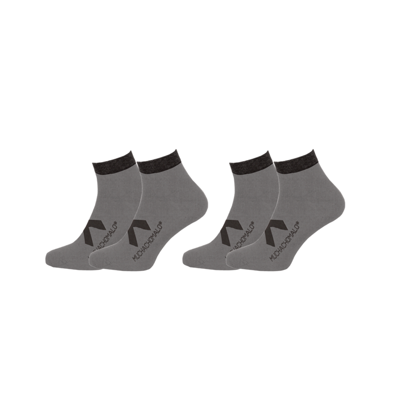2-PACK SOLID SOCKS SHORT