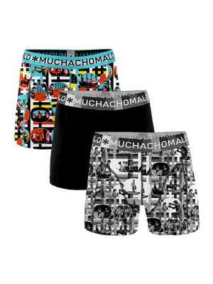 Heren 3-pack boxershorts Color Television