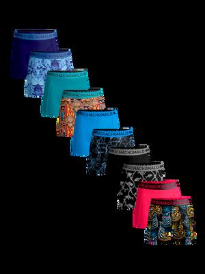 Heren 10-pack boxershorts print/effen