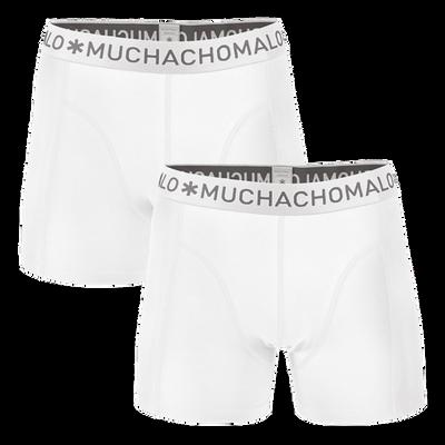 Heren 2-pack Boxershorts Effen