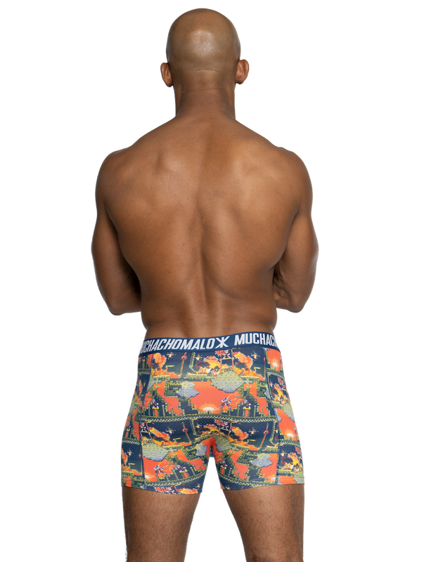 Men 2-pack shorts Super 16bit 4