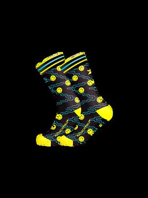 Heren 1-pack sokken Acid House
