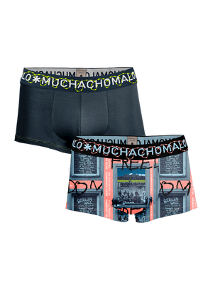 Heren 2-pack Trunks Berlin Wall